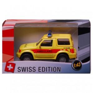 Swiss-Ambulanz SUV 1:43,