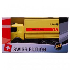 Swiss-Ambulanz LKW 1:43,