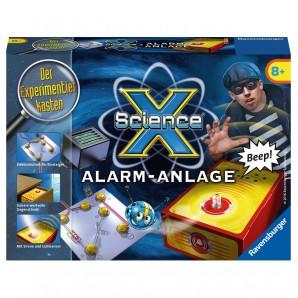 ScienceX Mini Alarmanlage, d ab 8 Jahren,
