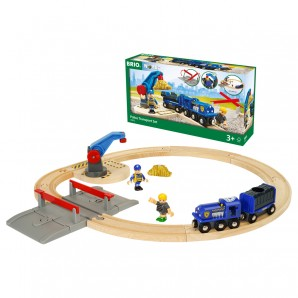 Polizei Goldtransport-Set Brio,