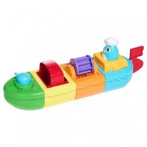 Aufziehboot 5 in 1 mit vielen Funktionen