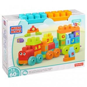ABC Lernzug Mega Bloks,