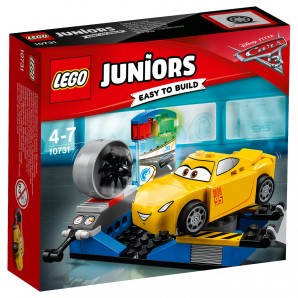 Cruz Ramirez Rennsimulator Lego Juniors,