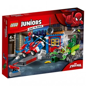 Grosses Kräftemessen von Spider-Man und Skorpion