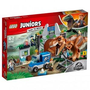 Ausbruch des T-Rex Lego Juniors
