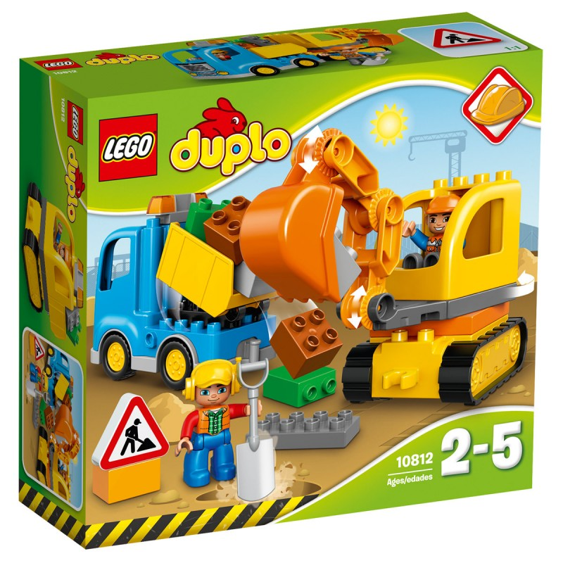 Bagger & Lastwagen Lego Duplo,