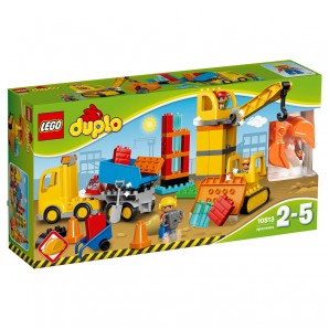 Grosse Baustelle, Lego Duplo 2-5 Jahre,