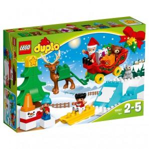 Winterspass mit dem Weihnachtsmann,