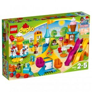 Grosser Jahrmarkt Lego Duplo