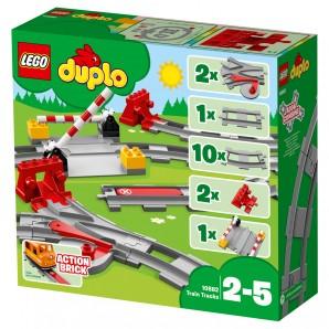 Eisenbahn Schienen Lego Duplo