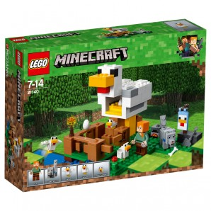 Hühnerstall Lego Minecraft