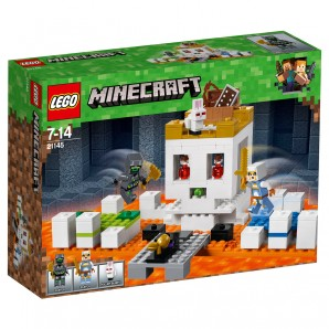 Die Totenkopfarena Lego Minecraft