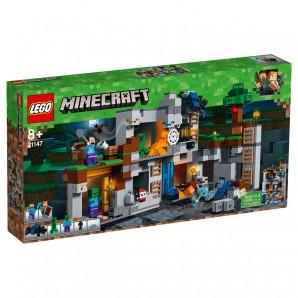 Abenteuer in den Felsen Lego Minecraft