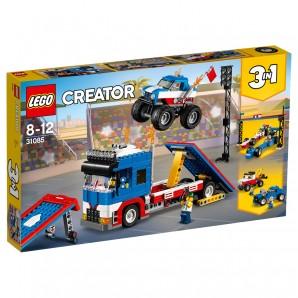 Stunt-Truck Transporter Lego Creator