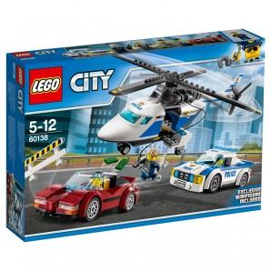 Rasante Verfolgungsjagd Lego City,