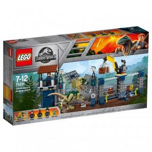 Angriff des Dilophosaurus Lego Jurassic World