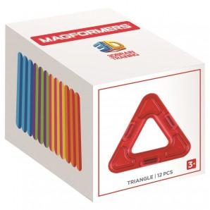 Magformers Triangle 12 Stk. Ergänzungsset Dreiecke