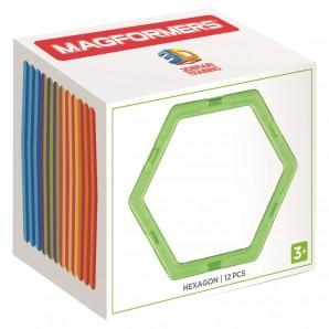 Magformers Hexagon 12 Stk. Ergänzungsset Sechseck
