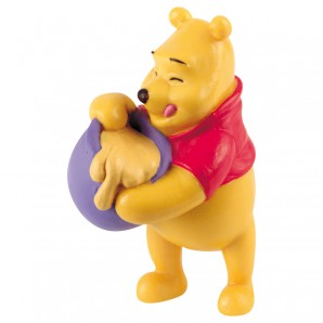 Pooh stehend mit Honigtopf