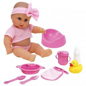 Puppe Trink- und Nässe Baby 30 cm,