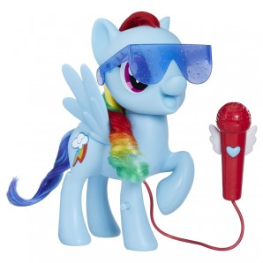 Singende Rainbow Dash d