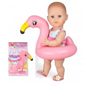 Flamingo-Schwimmset