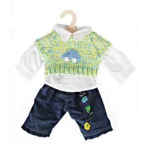 Jeans-Set Puppen 35-45 cm