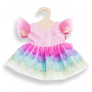 Kleid Regenbogen klein