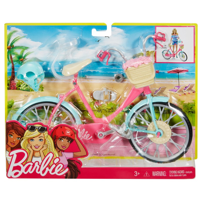 Barbie Fahrrad mit Befestigung für Barbie