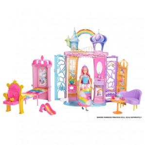 Barbie Regenbogen Schloss Dreamtopia