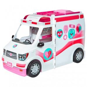 Barbie 2-in-1 Krankenwagen 17x25x43 cm