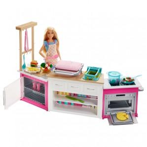 Barbie Deluxe Küche 61 cm
