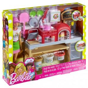 Barbie Pizzabäckerin Set