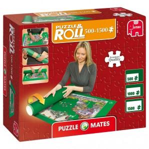 Puzzleteppich bis 1500 Teile zum Rollen,