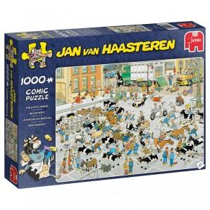 Puzzle Der Vieh-Markt