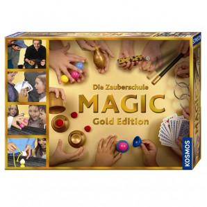 Zauberschule Magic Gold, d mit 150 Tricks,