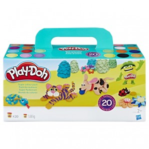 Play-Doh Super-Set 20-teilig 20 Dosen Knete,
