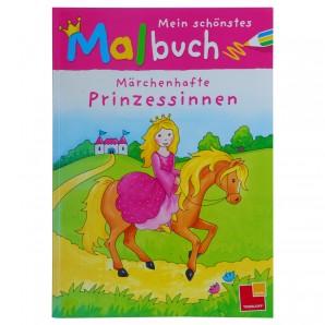 Malbuch Prinzessinnen 28x20 cm,