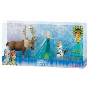 Disney Frozen Deluxe Set 4 Figuren,