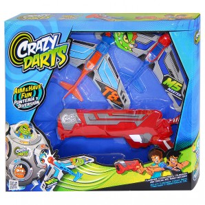 Crazy Darts Gun 2 Flieger,