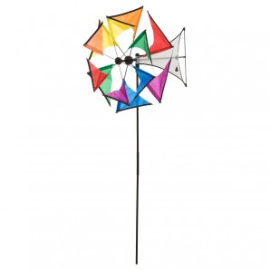 Windrad Mini Duett Rainbow ø 42 cm,
