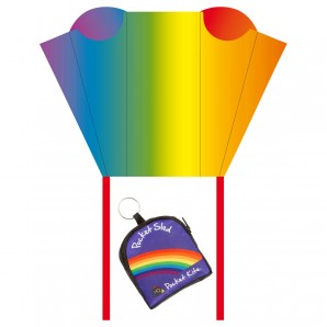 Drachen Pocket Sled Rainbow 43x33 cm,