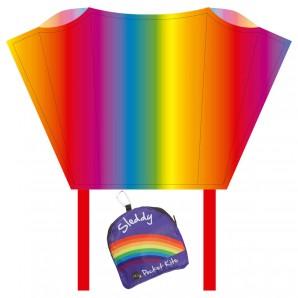 Drachen Sleddy Rainbow 76x50 cm,