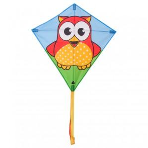 Drachen Eddy Owl 68x68 cm,