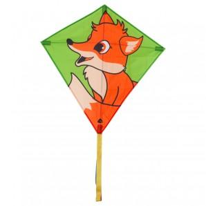 Drachen Eddy Fox 68x68 cm,