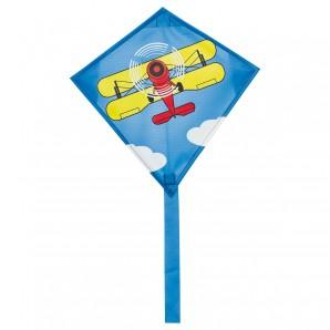 Drachen Mini Eddy Biplane 30x30 cm,