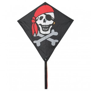 Drachen Eddy Jolly Roger 68x68 cm,