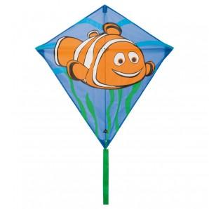 Drachen Eddy Clownfish 68x68 cm,