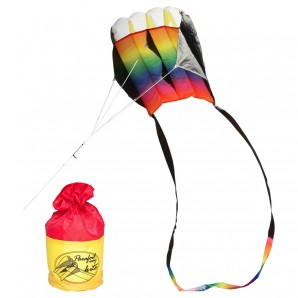 Drachen Parafoil Rainbow 35x56 cm,