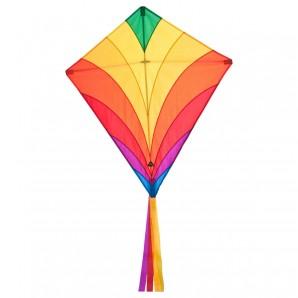 Drachen Eddy Rainbow 68x68 cm,